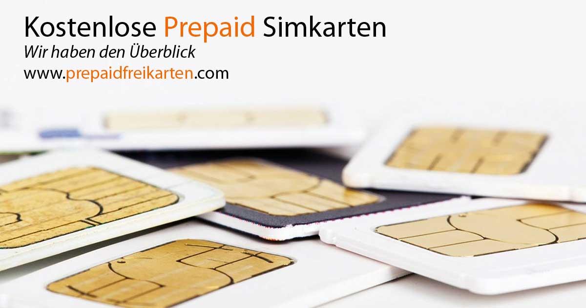 Prepaid Sim Karte Kostenlos.Prepaid Freikarten Und Kostenlose Sim Im Vergleich Günstiger